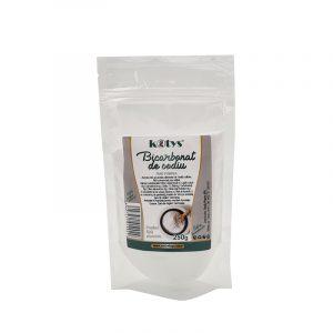 Bicarbonat de sodiu - pulbere pura 250gr Kotys