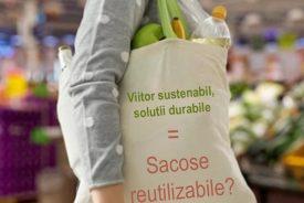 Sacosele reutilizabile nu sunt solutia durabila la care se asteapta toata lumea